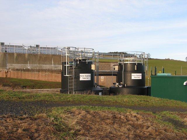 Coagulant tanks, Watch Water waterworks