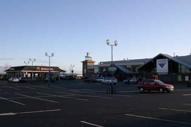 Belvedere Retail Park, Kingston Park