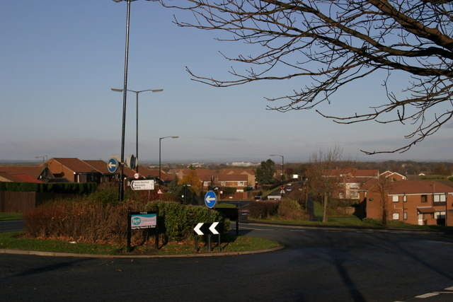 Ponteland Road from junction with Brunton Lane, Kingston Park