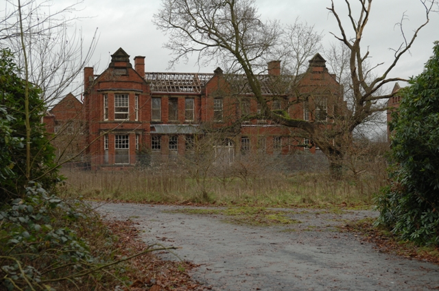 Abandoned whittingham psychiatric hospital