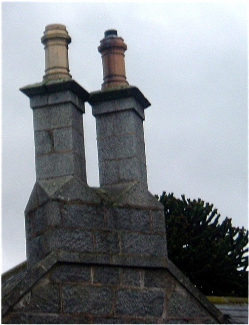 Period chimneys.