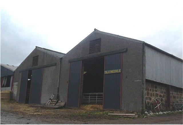 Tillyneckle farm buildings