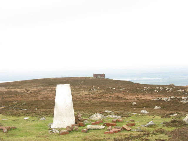 The summit plateau of Cefn Du