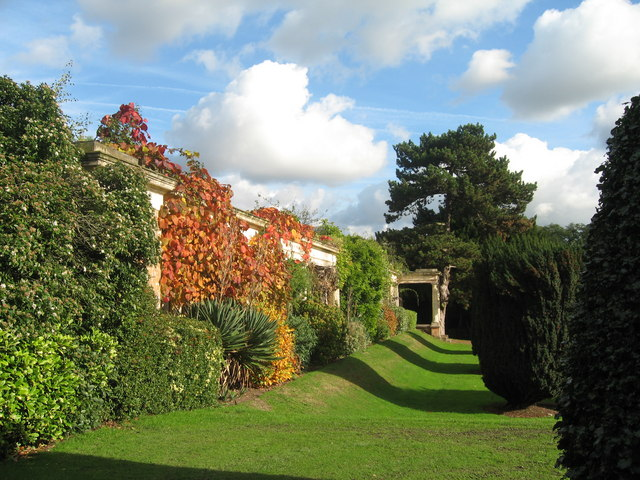 Gardens in Autumn at Allerton Towers