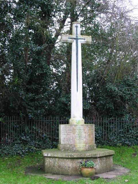 War memorial, Tilmanstone.