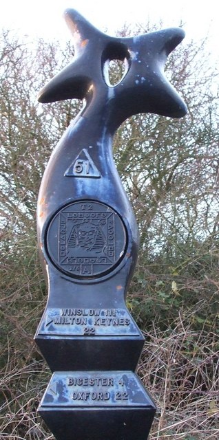 Millennium Milepost - Close-up (top)