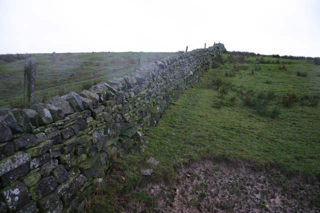 Stone wall and fence