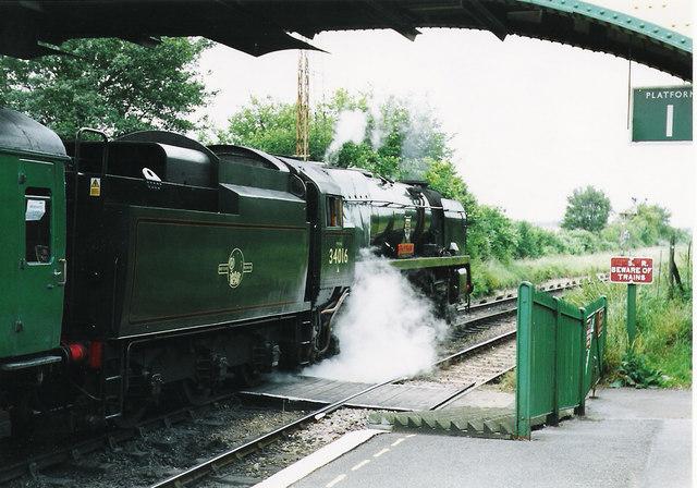 Train for Alresford