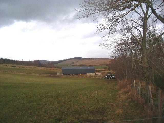 Farm buildings by Pitmurchie