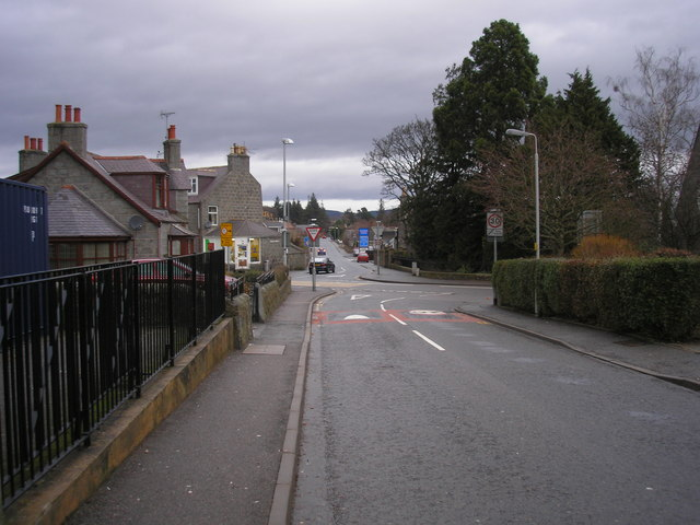 Crossroads in Alford