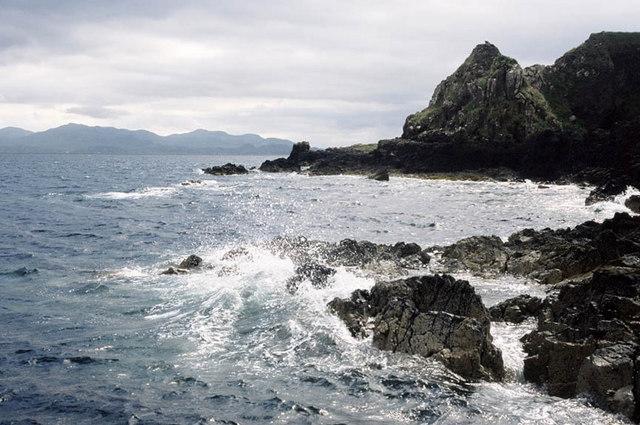 Northern coastline of Muck