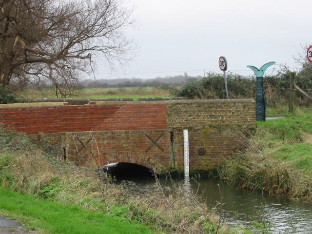 Bridge over stream going towards Sandwich bay.