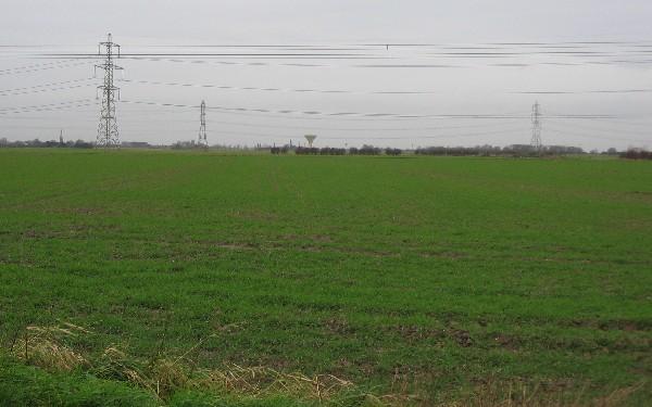 Farmland near Carr Lane