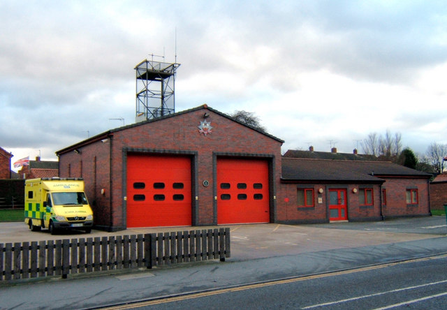 Barton Upon Humber Fire Station