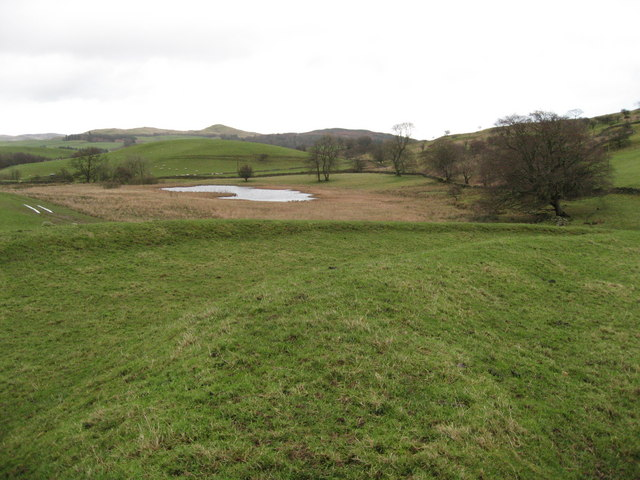 Ancient earthworks on Moat Hill
