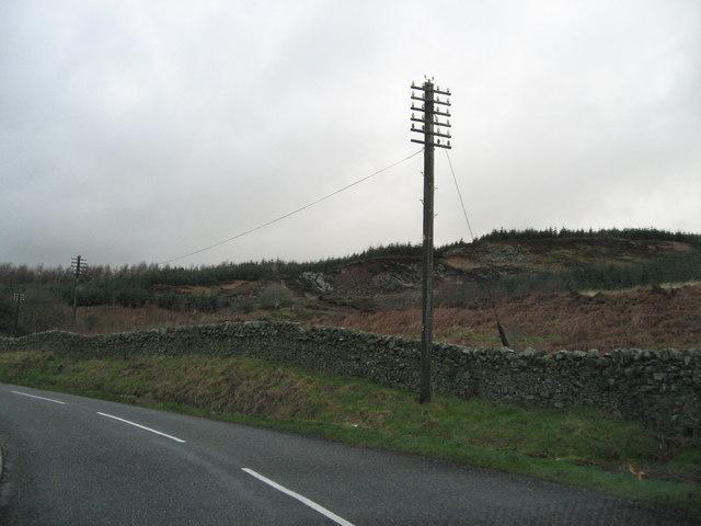 Disused quarry