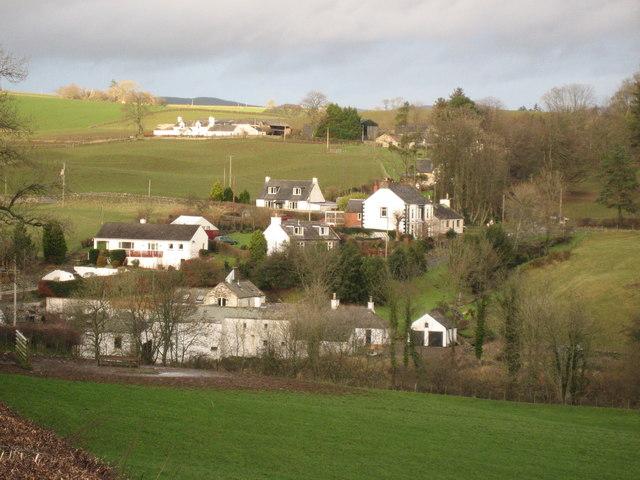 The Village of Old Bridge of Urr