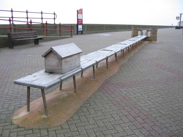 Model pier