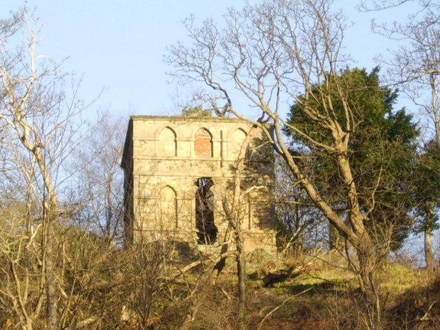 Old folly near Milton