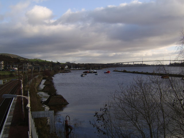 View across Bowling Harbour