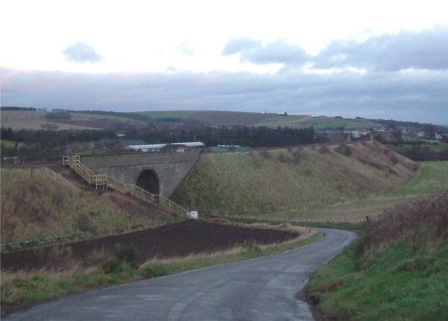Rail bridge at Kirkton of Fetteresso