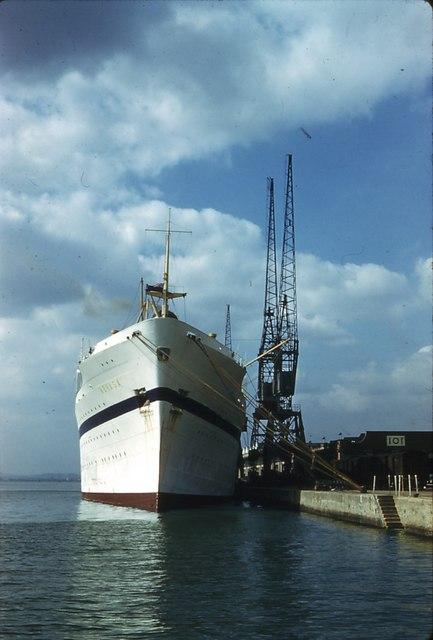 101 Dock Southampton 1965