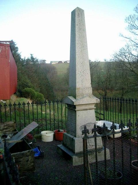 Covenanter David Steel's grave