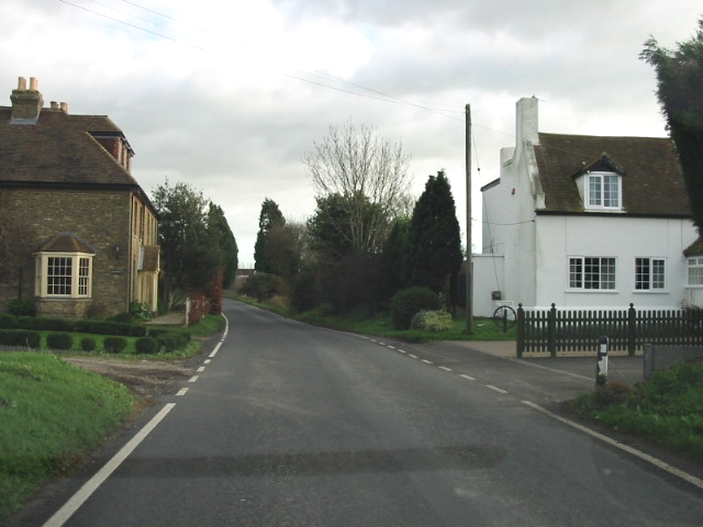 Ringlemere Farm house (on right).