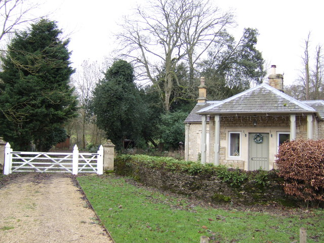 Lodge and park gate