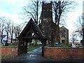 SP1091 : St Barnabas Church, High St, Erdington by Edward Hunt