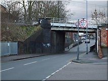 SP1092 : Railway Bridge in Summer Road, Erdington by Edward Hunt