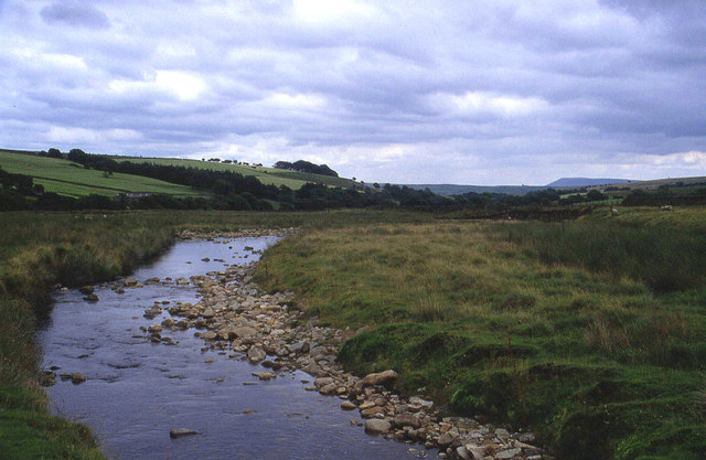 Upper reaches of the River Hodder