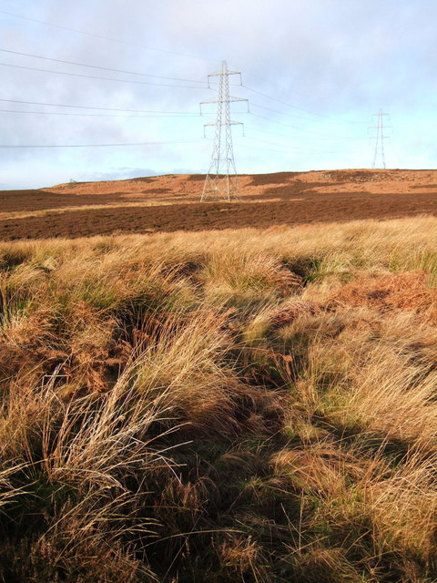Moorland near Wolfhole Letch