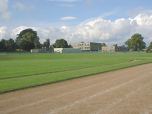 Tupton Hall School and Sports Track Prior to Re-Development