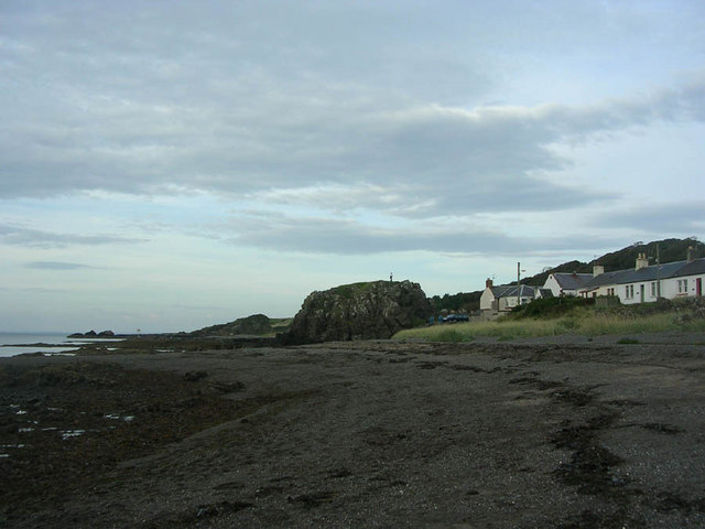 The beach at Dunure