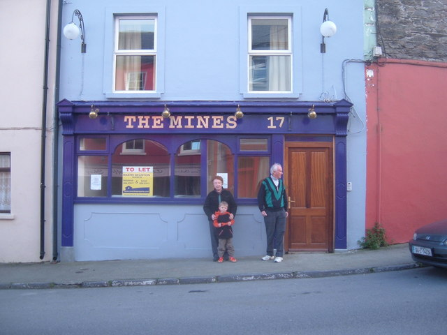 Mines public house on Main St Ballydehob