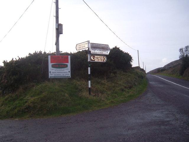 Road Junction between Goleen & Crookhaven