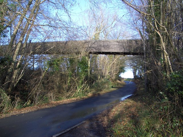 Bridge Carrying Conveyor near Oxley's Green