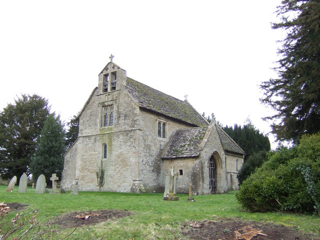 The small parish church of Little Faringdon.