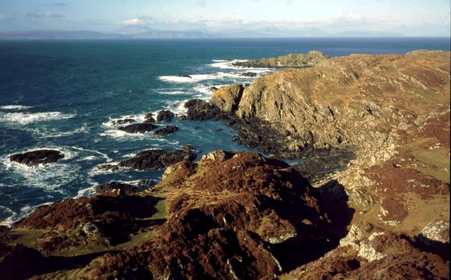 Northern coastline of Colonsay