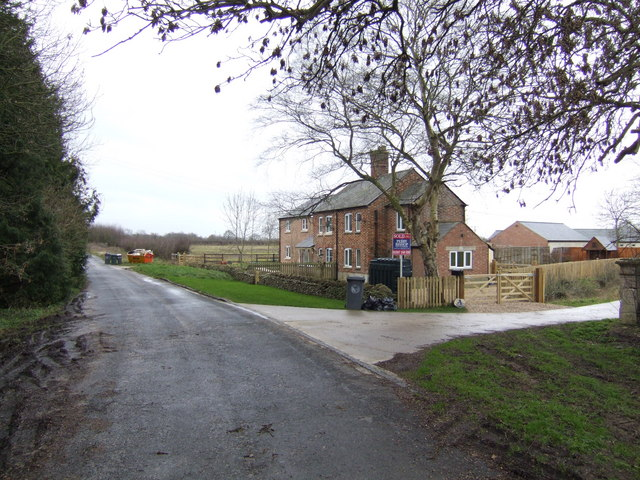 Cottages by the Old Burford Road