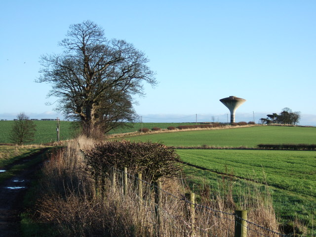 Water tower at Morwick