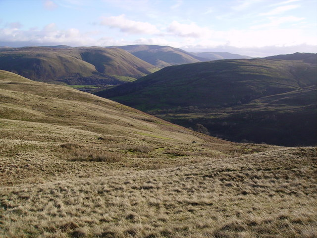 Looking Towards The Howgills