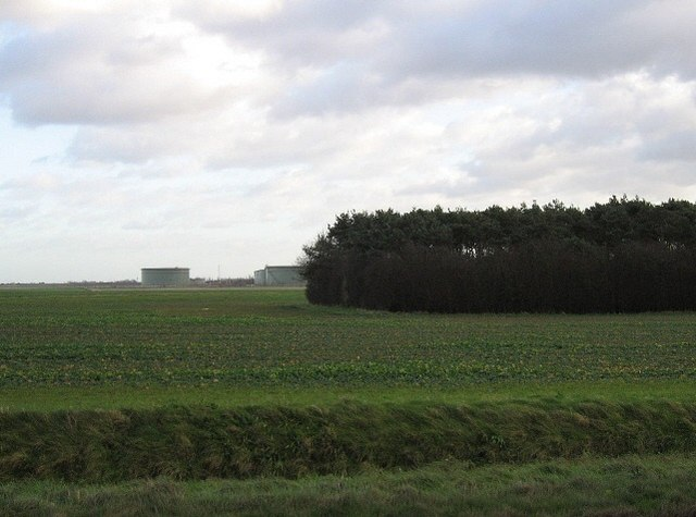 Farmland And Oil Tanks