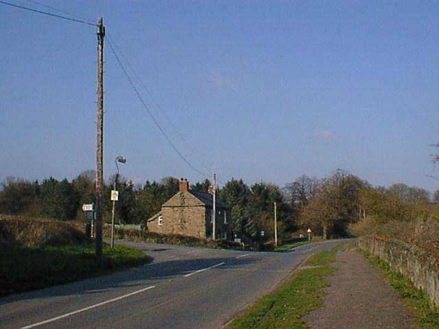 Woolley Moor (White Horse Lane Road Junction)