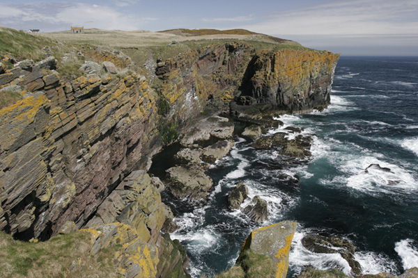 The Haven and cliffs of Bruan