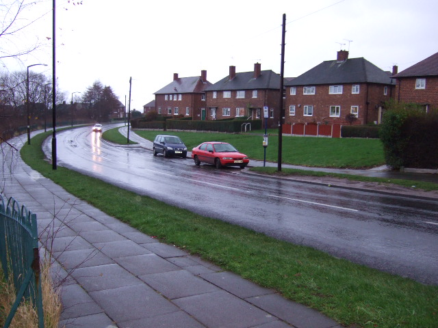 Hackenthorpe Council Housing Estate