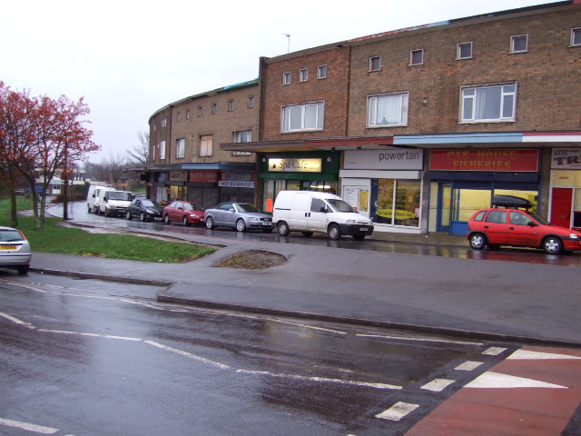 Shops at Hackenthorpe.