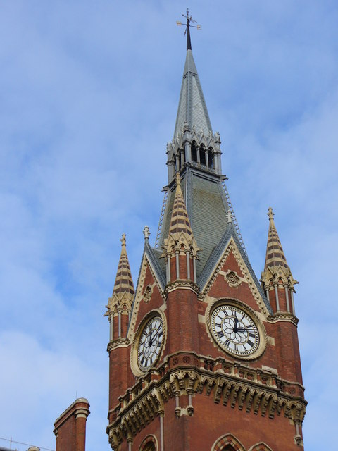 Clock Tower, St Pancras Station