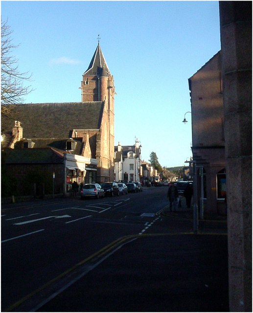 Banchory-Ternan West parish church